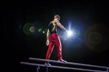 "Turn-Sportler auf der Turn-Gala ""Berlin, Berlin"""